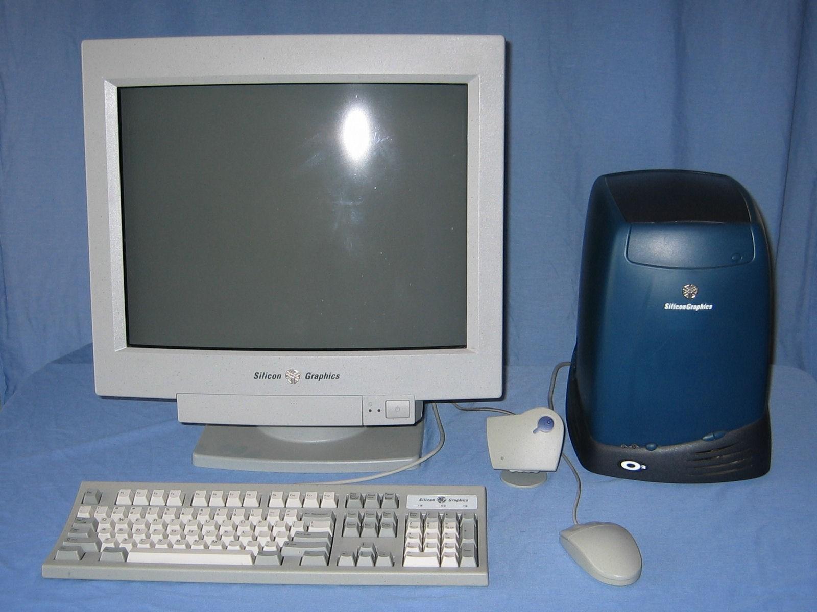 SGI O2 computer