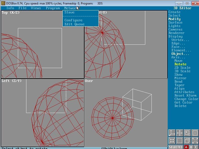 screenshot of 3d studo R4