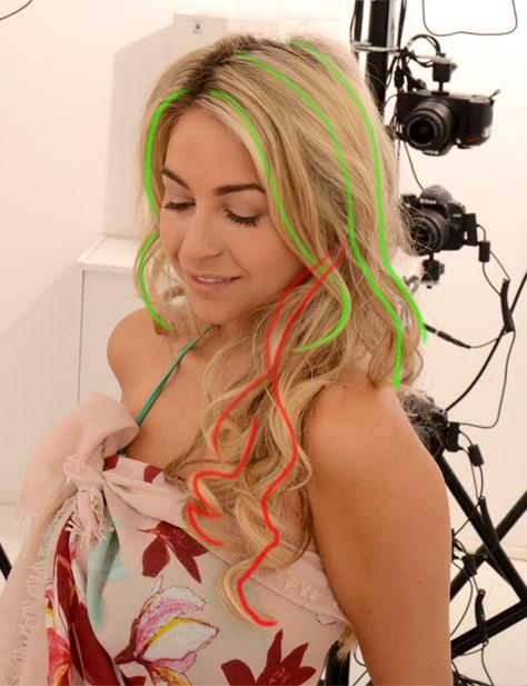 Reference photo - creating digital hair by Human Alloy