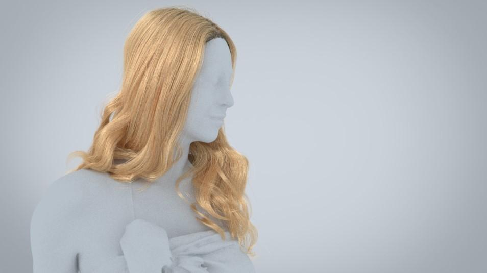 Add colour and gradation - creating digital hair by Human Alloy
