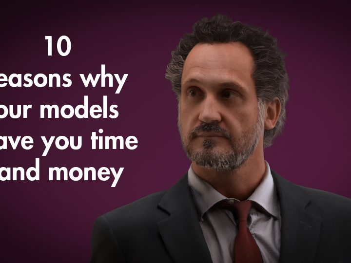 10 reasons why our 3D people models are high quality and affordable