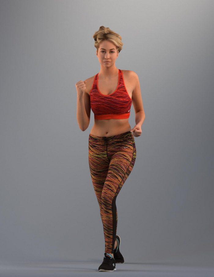 Basics002 Various 3D women. 3d woman in sports