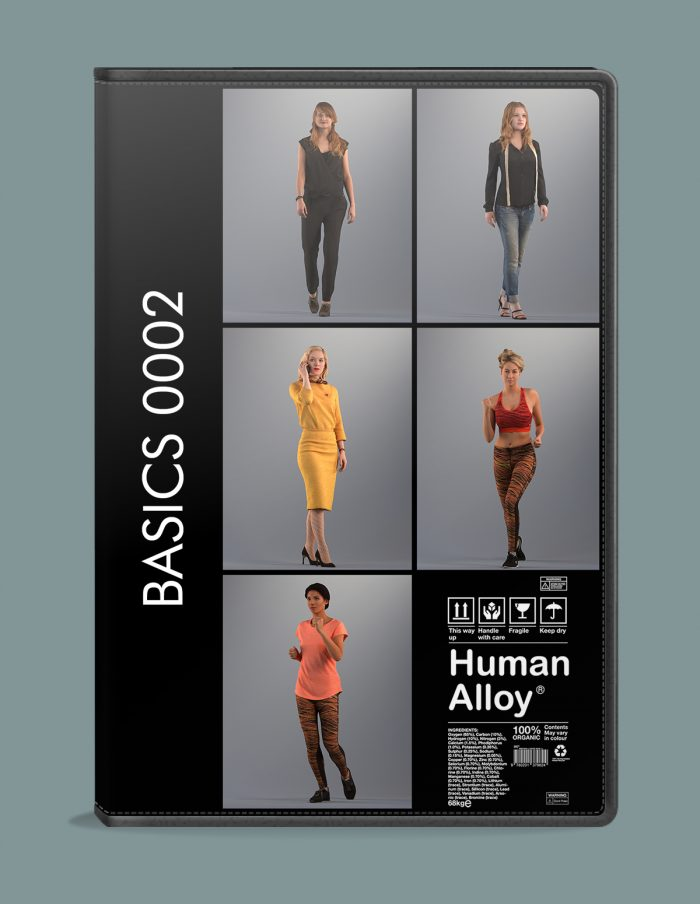 Basics002 Various 3D women