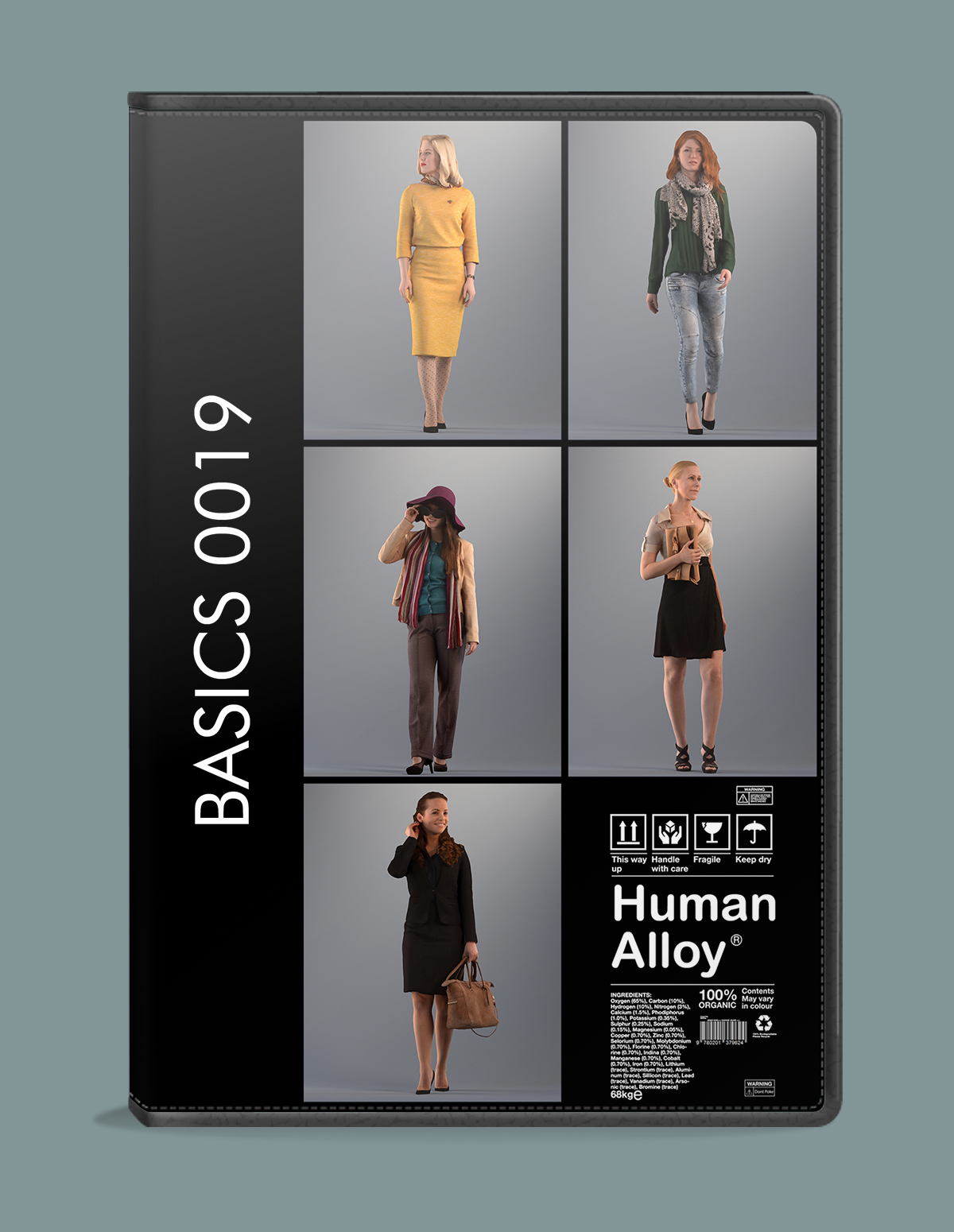 human alloy basics light weight 3d people for 3d visualization